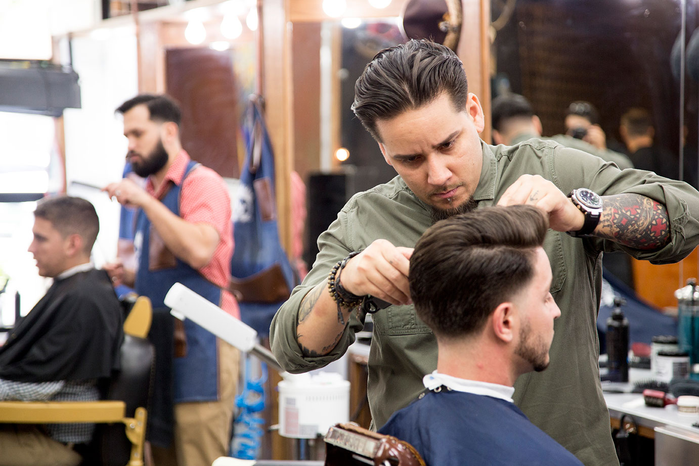 Classic & contemporary haircuts for men