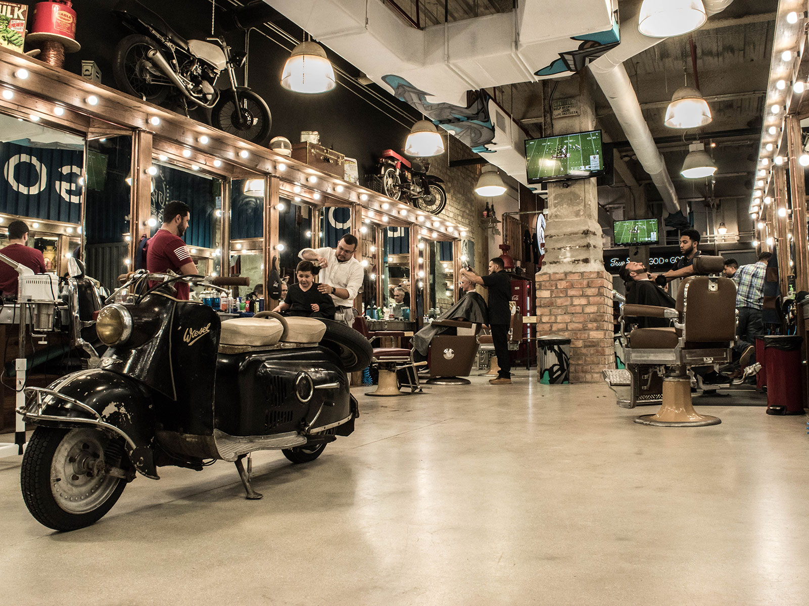 Miracle Mile location | The Spot Barbershop | Miami