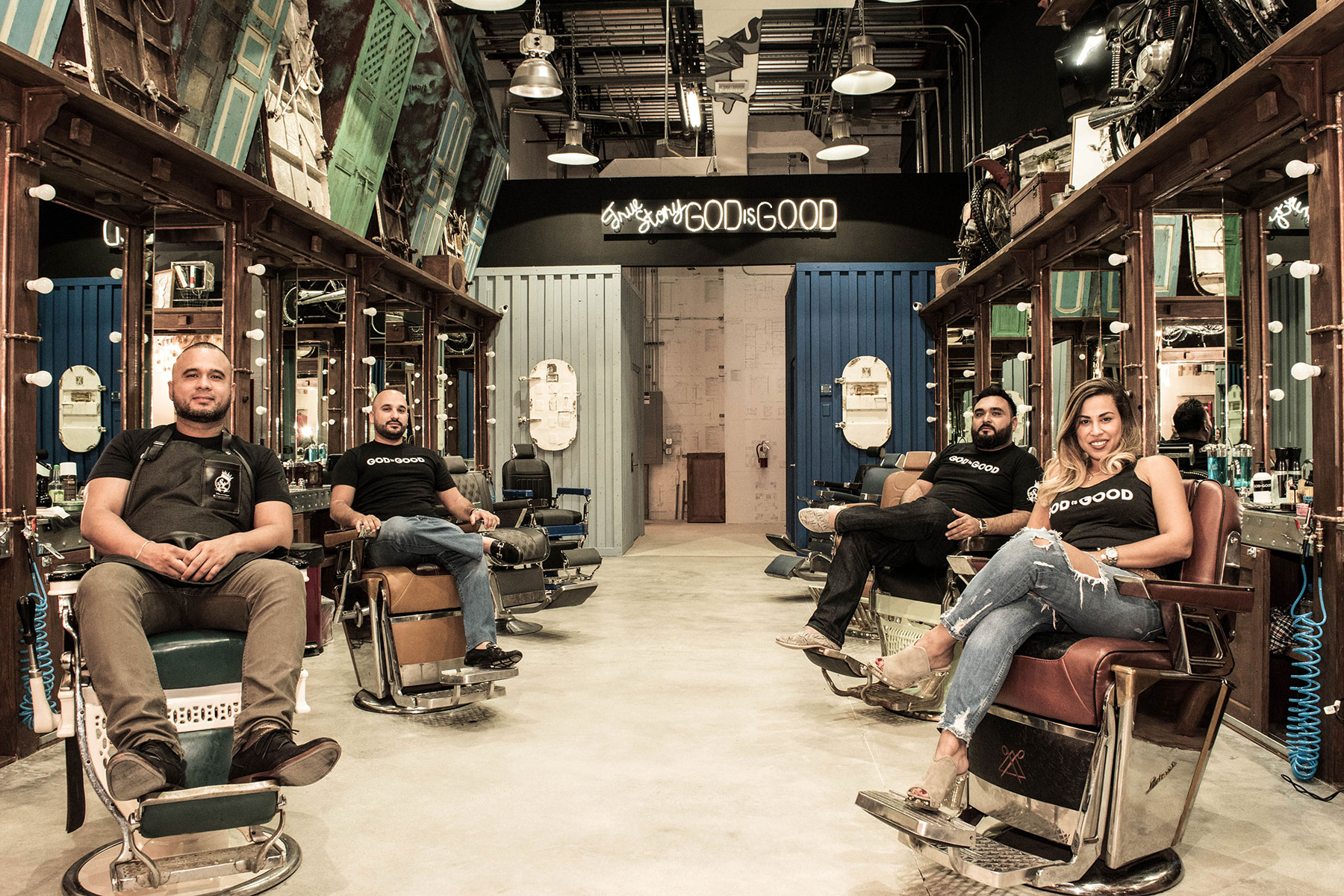 The Spot Barbershop Miami Classic Grooming Services