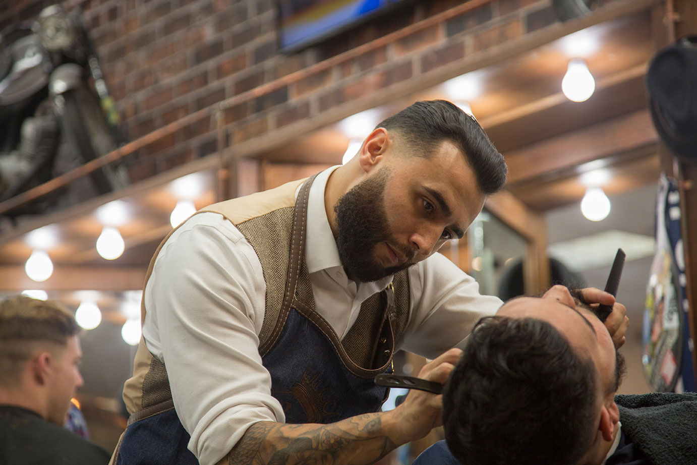 classic and contemporary haircuts & grooming