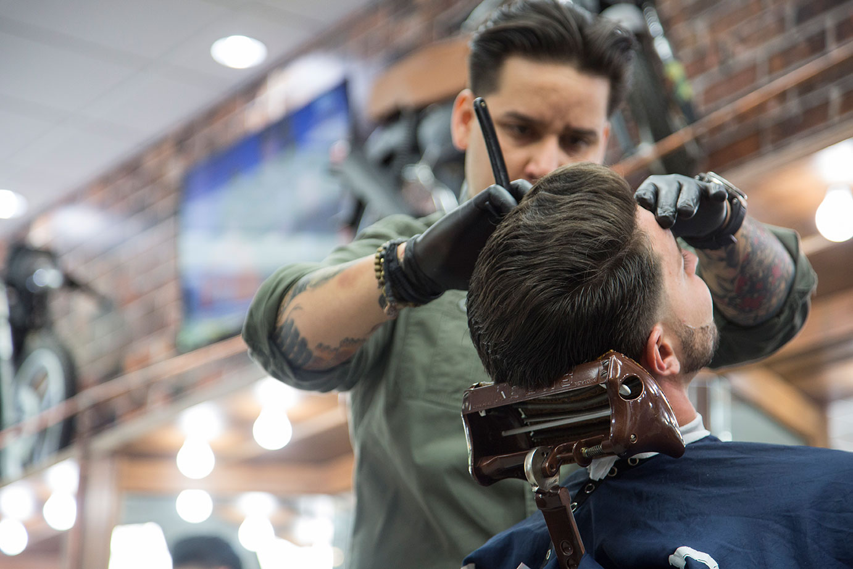 Classic Barber Haircut | Barbershop Miami