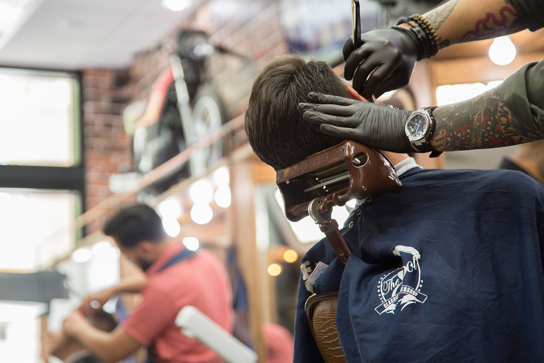 6 locations in Miami: The Spot Barbershop